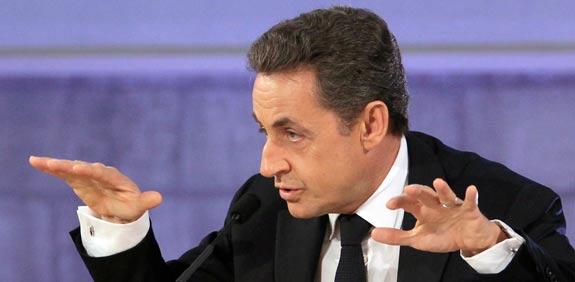 נשיא צרפת ניקולא סרקוזי / צלם: רויטרס